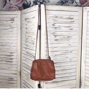 BRIGHTON | Leather Crossbody Hobo Bag